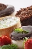 Tartlet puddingi obrazy royalty free