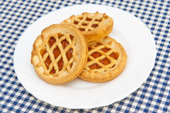 Tartlet With Jam Royalty Free Stock Photo