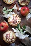 Tartlets της Apple Στοκ Εικόνες