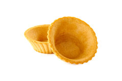 2 tartlets на белизне Стоковое Изображение RF