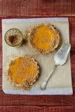 2 tartlets с тыквой Стоковое Изображение RF