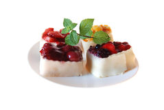 Tartlets de fruit Images stock