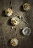 Tartlets do queijo Fotos de Stock Royalty Free