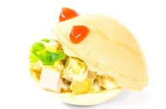 Tartlets mat, mellanmål, gourmet, frukost, vegetarian som är sund, matställe Royaltyfria Foton