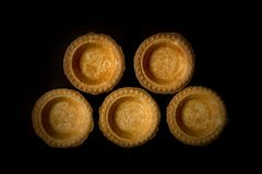 Tartlets without stuffing Royalty Free Stock Photography