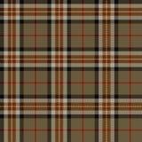 Tartán, modelo de la tela escocesa Foto de archivo libre de regalías