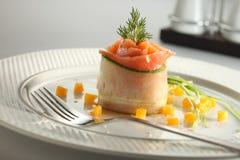 Tartre saumoné Photographie stock