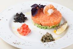 Tartre saumoné photo stock