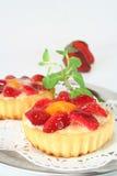 tarts φραουλών μεντών Στοκ φωτογραφία με δικαίωμα ελεύθερης χρήσης