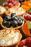 Tarts variety Stock Photos