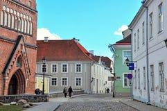 Tartu city centre Stock Photo