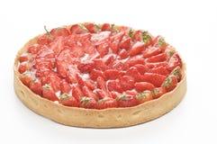 Tartu de fraise Photo libre de droits