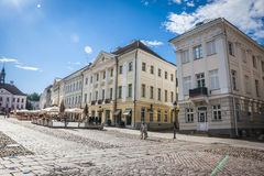 Tartu, Estonia. Amazing city centre of academic city Tartu, Estonia Stock Photography
