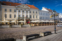 Tartu, Estonia. Amazing city centre of academic city Tartu, Estonia Stock Photos