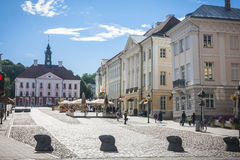 Tartu, Estonia. Amazing city centre of academic city Tartu, Estonia Royalty Free Stock Image