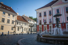 Tartu, Estonia. Amazing city centre of academic city Tartu, Estonia royalty free stock photos