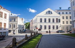 Tartu, Estonia. Amazing city centre of academic city Tartu, Estonia royalty free stock image