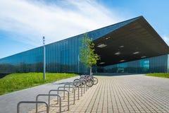 Estonian National Museum architecture in Tartu, Estonia stock images