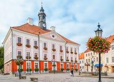 Tartu, Estonia Municipio di Tartu immagine stock