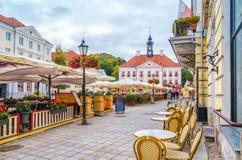 Tartu, Estonia Municipio di Tartu fotografia stock libera da diritti
