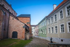 Tartu, Estonia. Restored St. John's church in Tartu, Estonia Royalty Free Stock Photography
