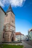 Tartu, Estonia. Restored St. John's church in Tartu, Estonia Stock Photography
