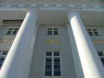 Tartu University building Royalty Free Stock Images
