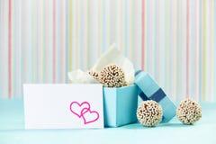 Tartufi di cioccolato immagini stock