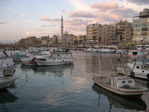 Tartus, Syrien stockfotos