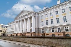 Tartuuniversiteit Royalty-vrije Stock Afbeeldingen