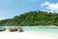 Tarutao nationaal park en Koh Lipe in Satun, Thailand Royalty-vrije Stock Foto