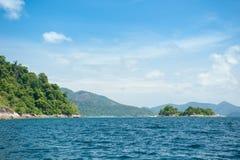 Tarutao Nationalpark und Koh Lipe in Satun, Thailand Stockbild