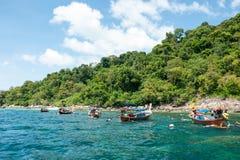Tarutao Nationalpark und Koh Lipe in Satun, Thailand Lizenzfreie Stockfotos