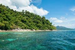 Tarutao Nationalpark und Koh Lipe in Satun, Thailand Lizenzfreies Stockbild