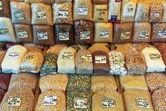 Tarwe, noten en bonen Royalty-vrije Stock Afbeelding