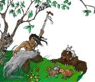 Tarzan Royalty-vrije Stock Fotografie