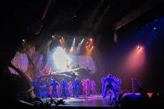Tarzan: Appell av djungelshowen på Shanghai Disneyland arkivfoto