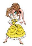 Tarzan högkvalitativ illustration av kaninen och den jane maskot, räkning, bakgrund, tapet vektor illustrationer