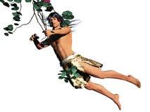 Tarzan isolou-se Imagem de Stock