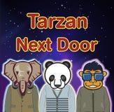 Tarzan Next Door Poster vector illustration