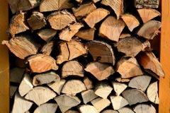 Tas de bois Photo stock