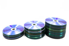 Tas de disque Photographie stock