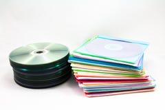 Tas de disque Photographie stock libre de droits