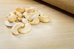 Tas de noix de cajou Photos libres de droits