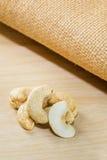 Tas de noix de cajou Photo libre de droits