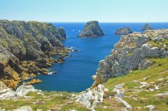 Tas De Pois, Brittany, France Stock Photography