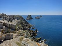 Tas de Pois, Brittany, France Royalty Free Stock Images