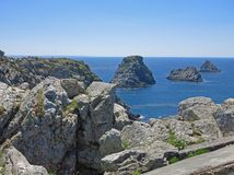 Tas de Pois, Brittany, France Royalty Free Stock Photography
