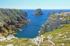 Tas De Pois, Brittany, Francja Fotografia Stock