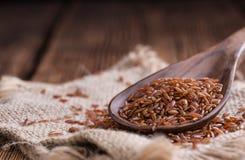 Tas de riz rouge (tir en gros plan) Images stock